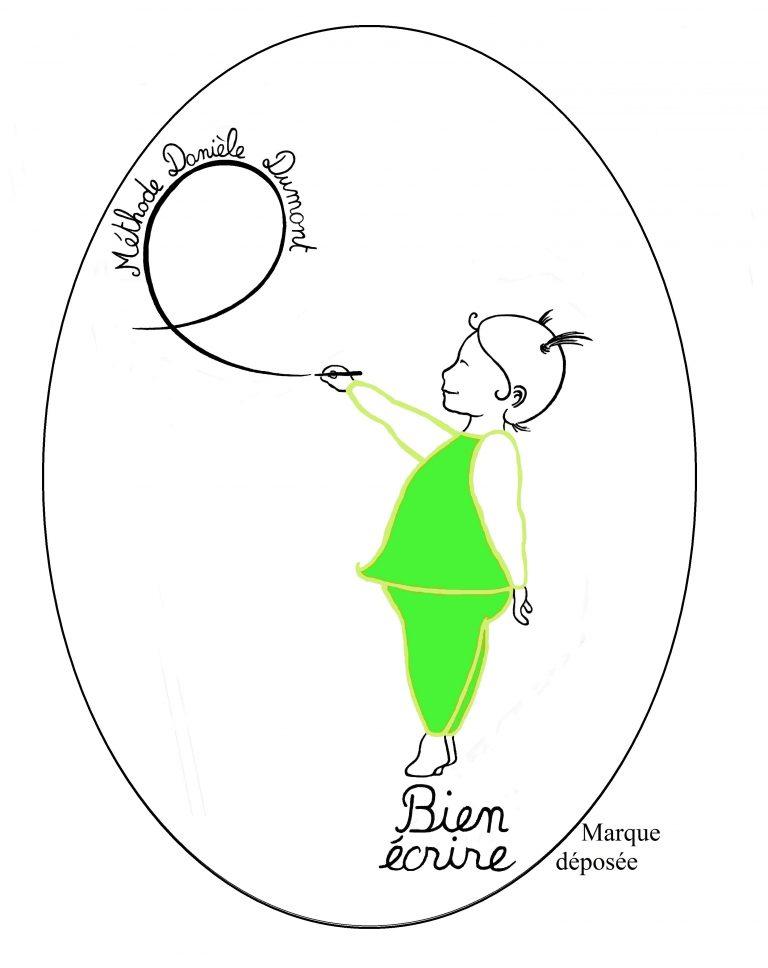 Logo de la méthode Dumont pour l'acquisition de l'écriture cursive